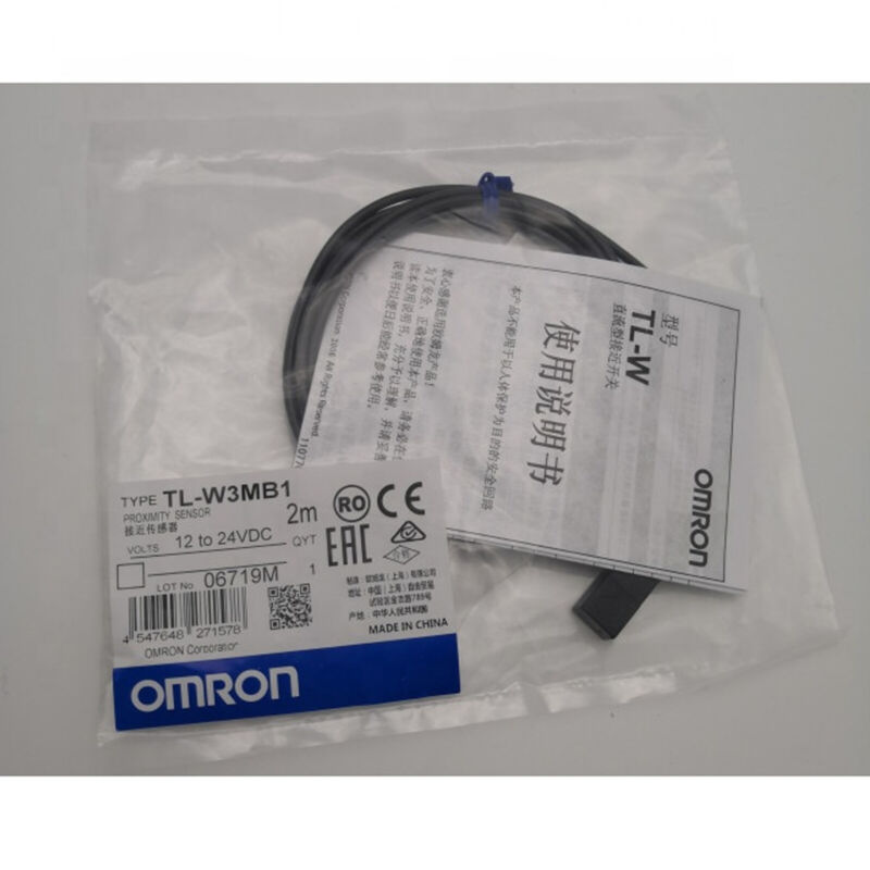 OMRON TL-W3MB1 TLW3MB1 INDUCTIVE PROXIMITY SWITCH SENSOR DC 3-WIRE MODEL PLC NEW