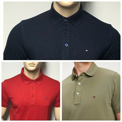 Tommy Hilfiger Short Sleeve Men's Polo T-shirts For Sale
