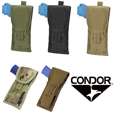 - Condor Tactical MOLLE PALS Universal Vertical Pistol Pouch Holder Holster MA10