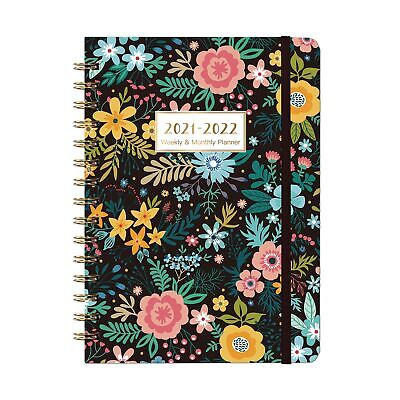 2021-2022 Planner - Weekly Monthly Planner With Monthly Tabs July 2021 - J...