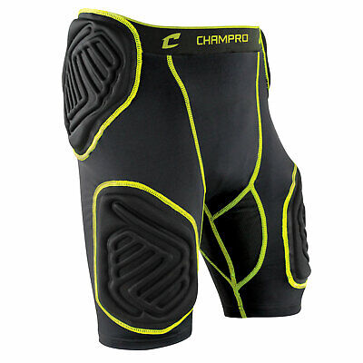 Champro Bull-Rush 5-Pad Integrated Football Girdle Youth or Adult Padded -
