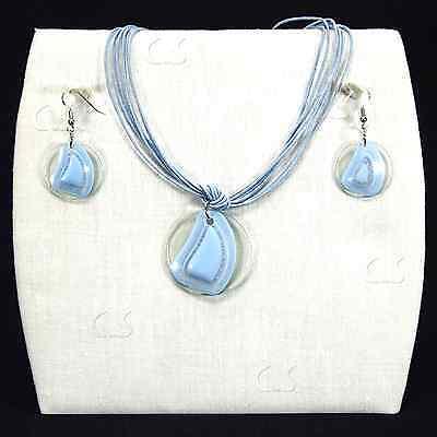 Jewelry Set 3-pc Necklace + Earrings