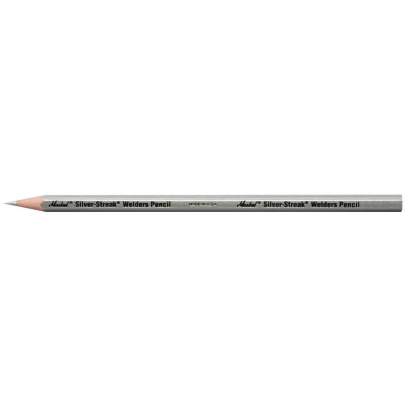 Markal 96101 Silver Streak Welders Pencil, Silver (Pack of 12)