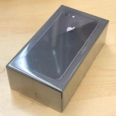 New Sealed in Box Apple iPhone 8 64GB Room Gary AT&T A1905 GSM MQ6V2LL/A 1 Year