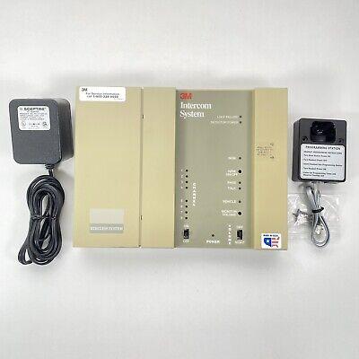 3m C-960 Drive Thru Base Station Intercom System W Programming Station