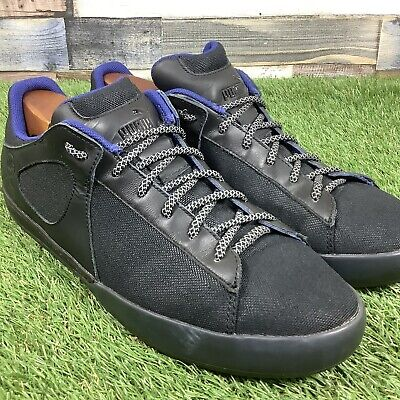 UK 9 Mens PUMA X ALEXANDER McQUEEN Black Trainers - Designer Collaboration Shoes