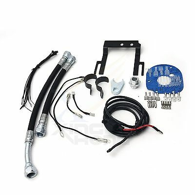 Black Reefer Oil Cooler Fan Cooling System For Harley