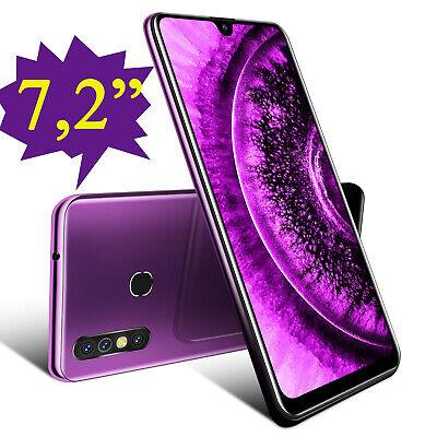 Billig 7,2 Zoll Dual-SIM Android 9.0 Smartphone Handy Ohne Vertrag Quad Core GPS