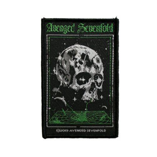 Avenged Sevenfold Vortex Skull Woven Sew On Battle Jacket Patch - 092