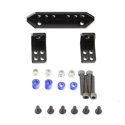 Alloy Rear Shock Support DIY Mount Set Black for Axial SCX10 RC Crawler Alloy Rear Shock Set