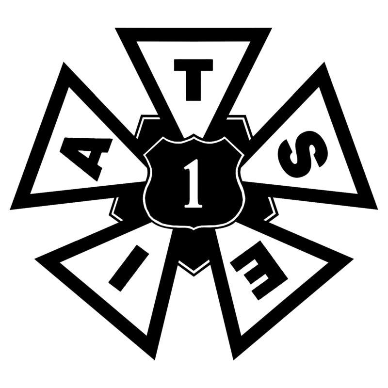 IATSE Local 1 NYC Labor Union Hard Hat Sticker