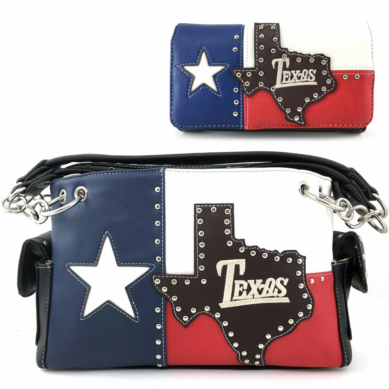 Justin West Texas State Flag Red White Blue Conceal Carry Pu