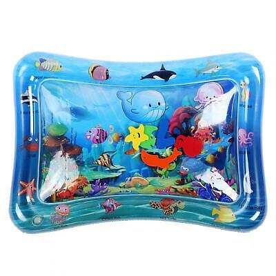 Water Play Mat Non-Toxic Toddlers Inflatable Tummy Time Mat Children Growth
