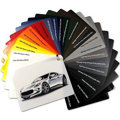 (26,31€/m²) 3M 1380 Car Wrapping Folie Autofolie gegossen Matt Glanz Luftkanal ()