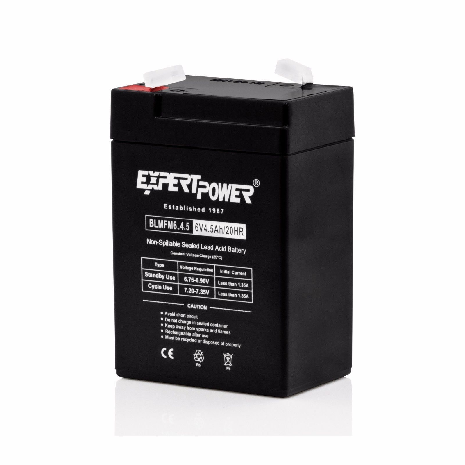 Expertpower Exp645 6v 45ah Rechargeable Batteries Ebay The Circuit Can Be Used To Charge 12v Lead Acid Stock Photo