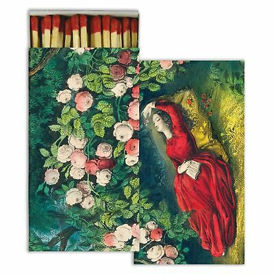 HomArt - Match Box Set of 2 - Sleeping Beauty - Red