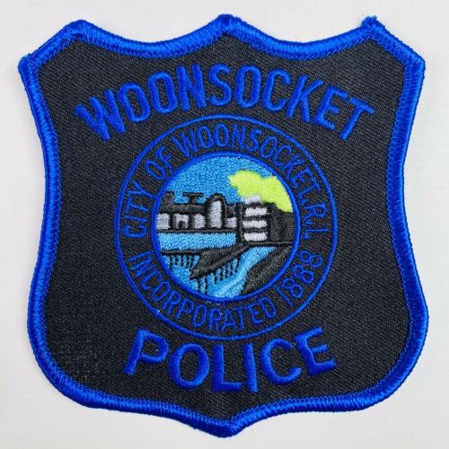 Woonsocket Police Rhode Island RI Patch (A3-B)