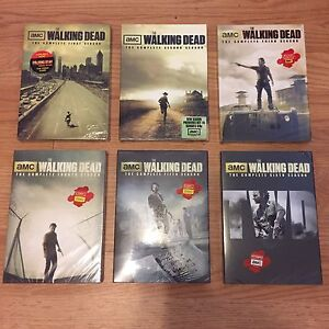 60$ New Sealed The Walking Dead Complete Series Seasons 1-6.