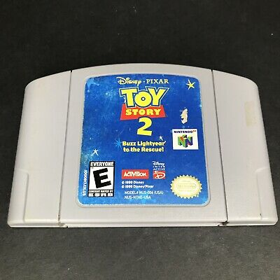 Toy Story 2 Nintendo 64 N64 Cleaned & Tested Authentic