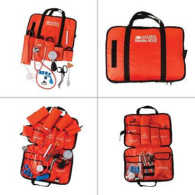 All-in-one Emt Kit With Dual Head Stethoscope Mabis And Paramedic First Aid