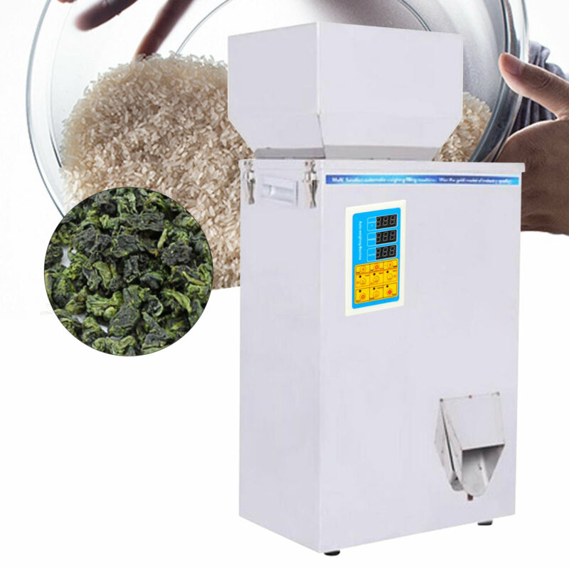 10-500g Multifunctional Weighing & Packing Particles Powder Filling Machine 110v