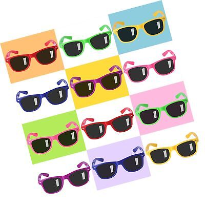 12 Pack Sunglasses for Teenagers and Adults in Bulk with UV400 Eye Protection... (Black Sunglasses In Bulk)