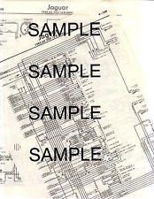 1971 JAGUAR XKE (4.2 LITRE) 71 WIRING DIAGRAM CHART   eBay
