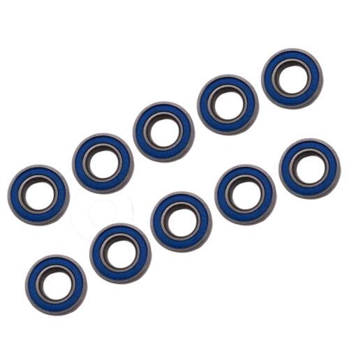 US Stock 10pcs MR105-2RS Rubber Sealed Ball Bearing Miniature Bearing 5x10x4mm