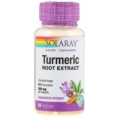 Solaray  Turmeric Root Extract  300 mg  60 -