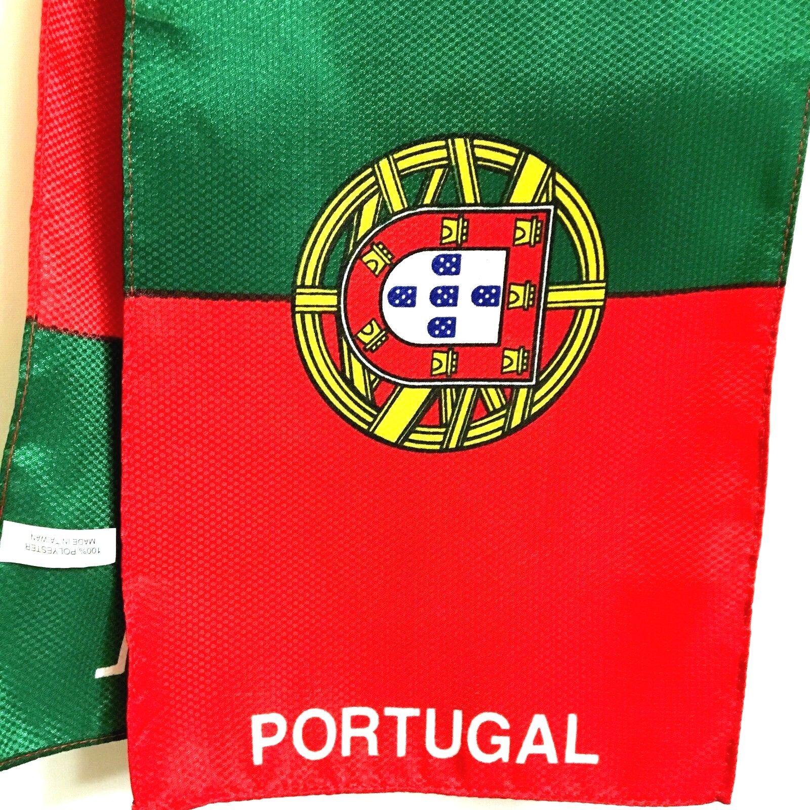 Portugal  Sport Football Scarf Fan Apparel Souvenir Polyeste