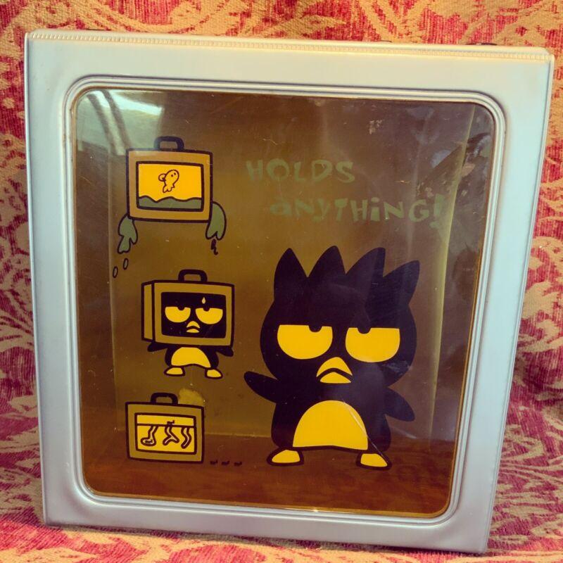 A Very Rare Sanrio1997 Badtz Maru Vintage Snap Box