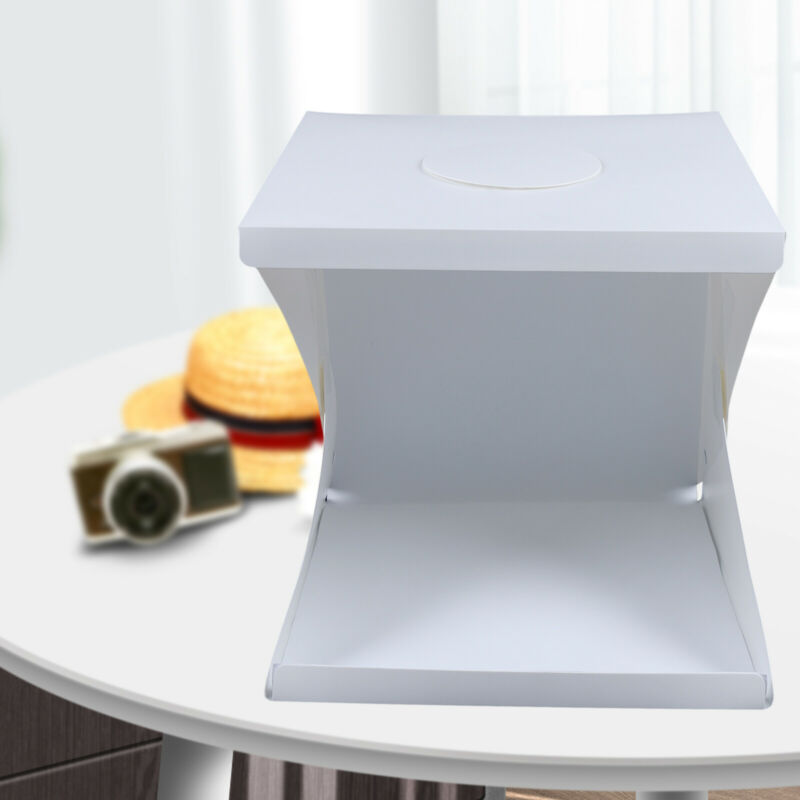 Studio Light Tent LED Photography Lamp Photo Box Portable Backdrop Heavy Duty