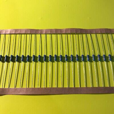 14w .25 Watt 1 Tolerance Metal Film Resistor 20 Pieces Usa Seller