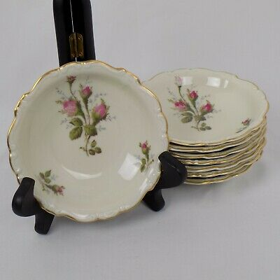 Pompadour Fruit (Rosenthal China Moss Rose Pompadour Fruit Sauce Bowl 5 1/4