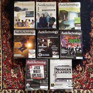 AUDIO TECHNOLOGY Magazines 95 Issues******2014 !! Eastern Heights Ipswich City Preview
