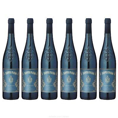 Doppio Passo Salento Primitivo IGT 6er Paket Rotwein aus Italien