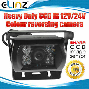 Heavy-Duty-CCD-IR-12V-24V-Colour-Reversing-Camera-Reverse-Rearview-Car-Caravan