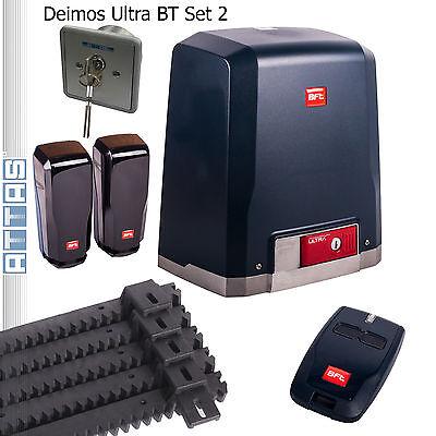 Schiebetorantrieb BFT DEIMOS Ultra BT bis 400 kg Set2 Torantrieb Schiebetor
