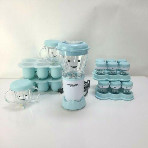 NutriBullet Baby Complete Food-Making System 32-Oz Blue Top
