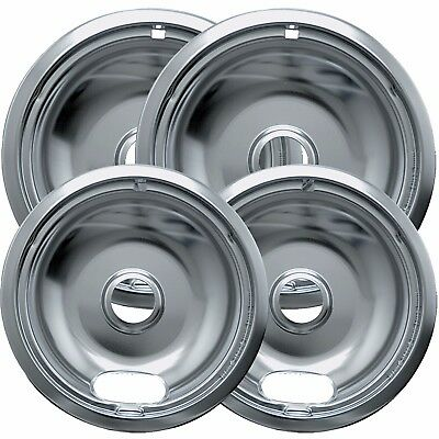 Frigidaire Burners Range - 4pc Drip Pans Bowl Set 6