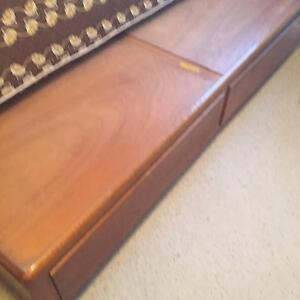 Single bed and timber vintage base with mattress Bronte Eastern Suburbs Preview