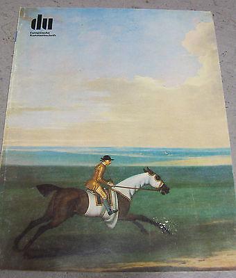 du 448 Pferde-Kunst und Pferde-Sport pp 6/1978 Europäische Kunstzeitschrift Juni