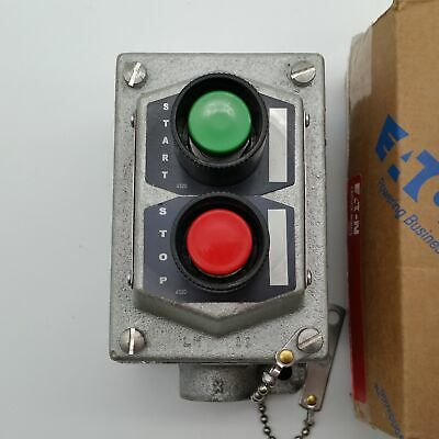 New Eaton Eds215 Explosion Proof Startstop - Onoff Push Button Switch Station
