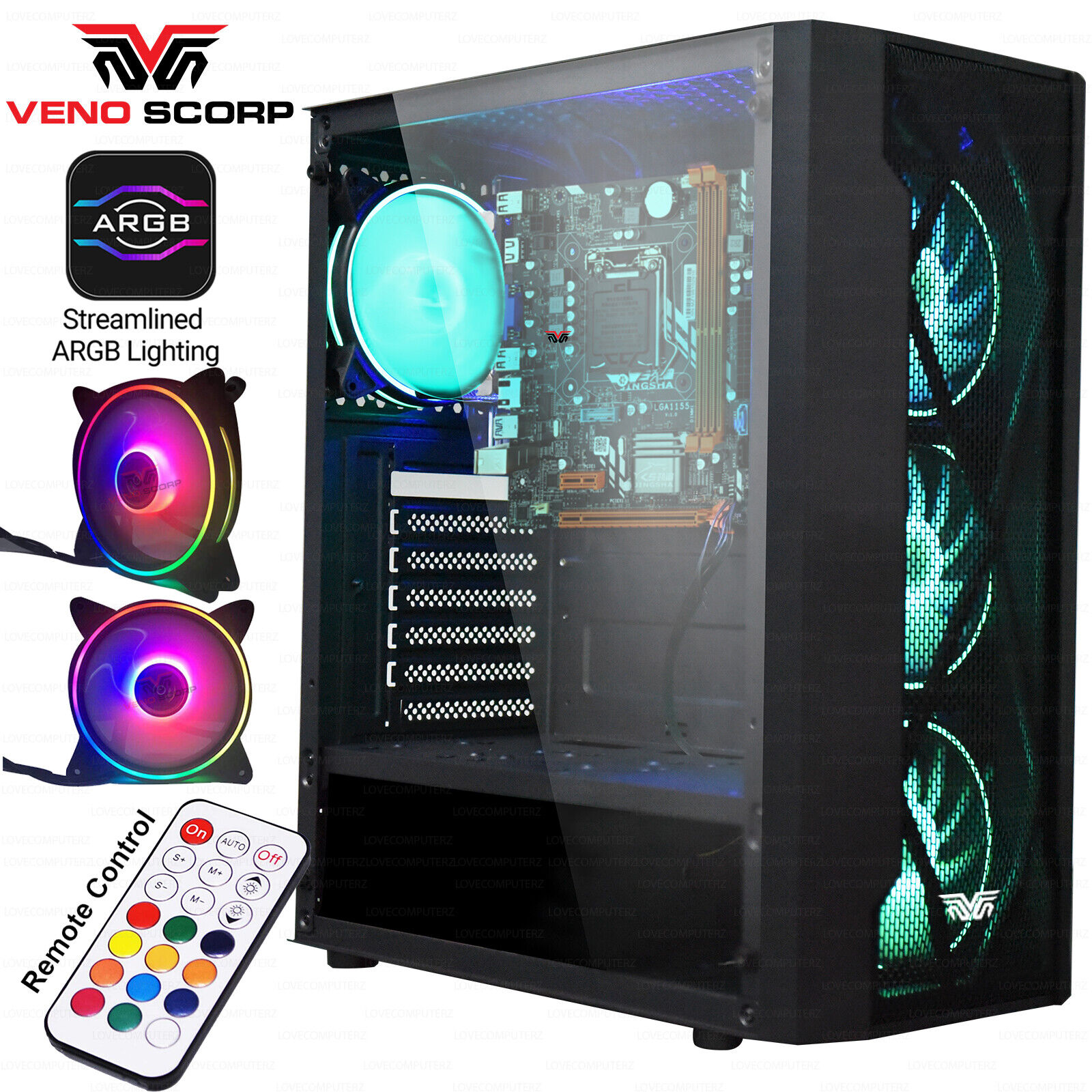 Computer Games - ULTRA FAST Gaming PC Computer Intel Quad Core i5 16GB 1TB Win10 2GB GT710 CHEAP