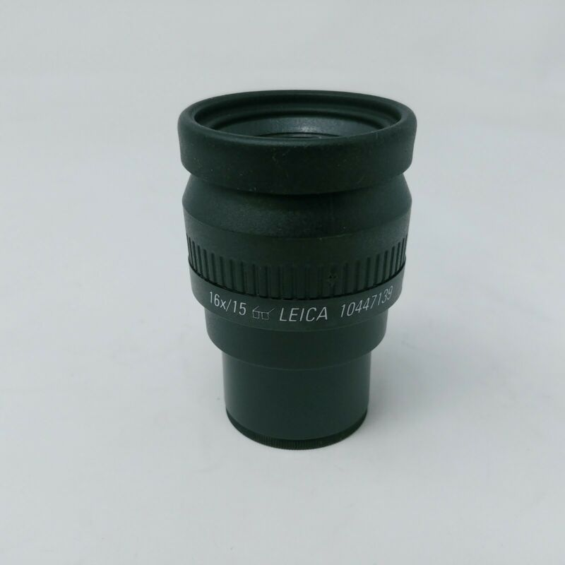 Leica Microscope Eyepiece 16x/15 10447139 Adjustable Focusing