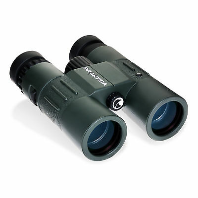 Praktica 10x42mm Waterproof Binoculars Green BADY1042G, London