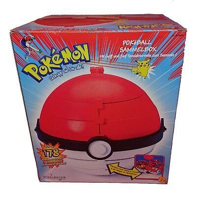 Pokemon Pokeball XL Sammelbox mit Murmeln Collector Marbles OVP Sammlerstück (Pokemon Mit Pokeball)