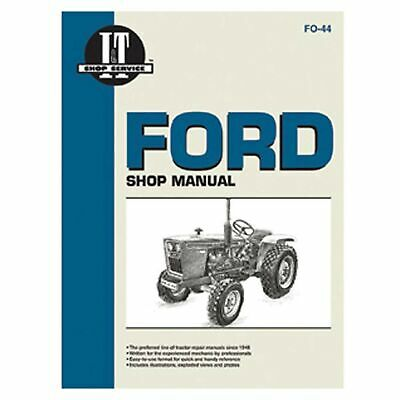 Service Manual For Ford New Holland Tractor Fo-44 110011101200121013001310