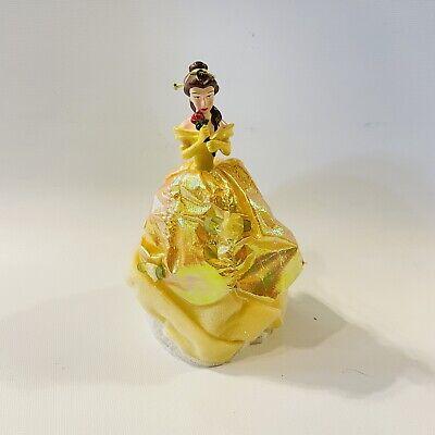 Christmas Ornament Disney Belle Beauty Beast Small Tree Topper Yellow