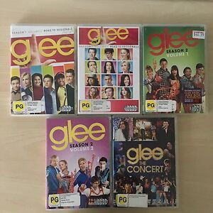 Glee 5 x DVD Glen Iris Boroondara Area Preview